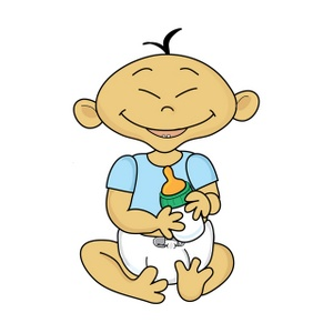300x300 Asian Baby Clipart