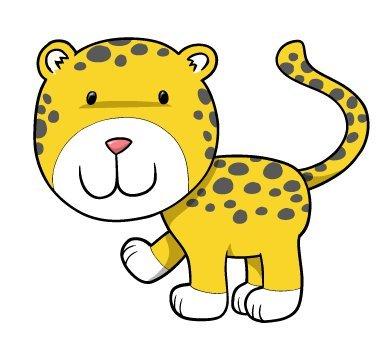 390x346 Cartoon Cheetah Free Clipart Clip Art Pictures Graphics