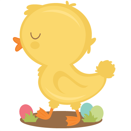 432x432 Baby Chick Svg Scrapbook Cut File Cute Clipart Files