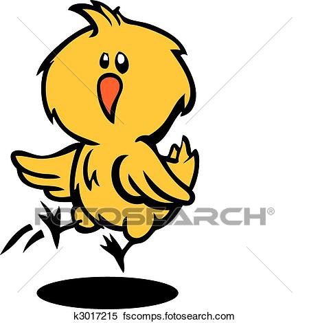 450x470 Clipart Of Cute Baby Chick K3017215