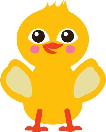 340x424 Chick Clip Art