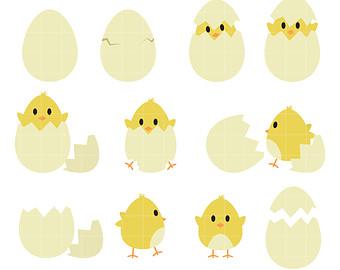 340x270 Chick Clip Art Etsy
