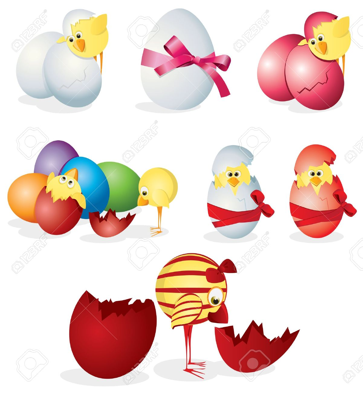 Baby Chicks Clipart
