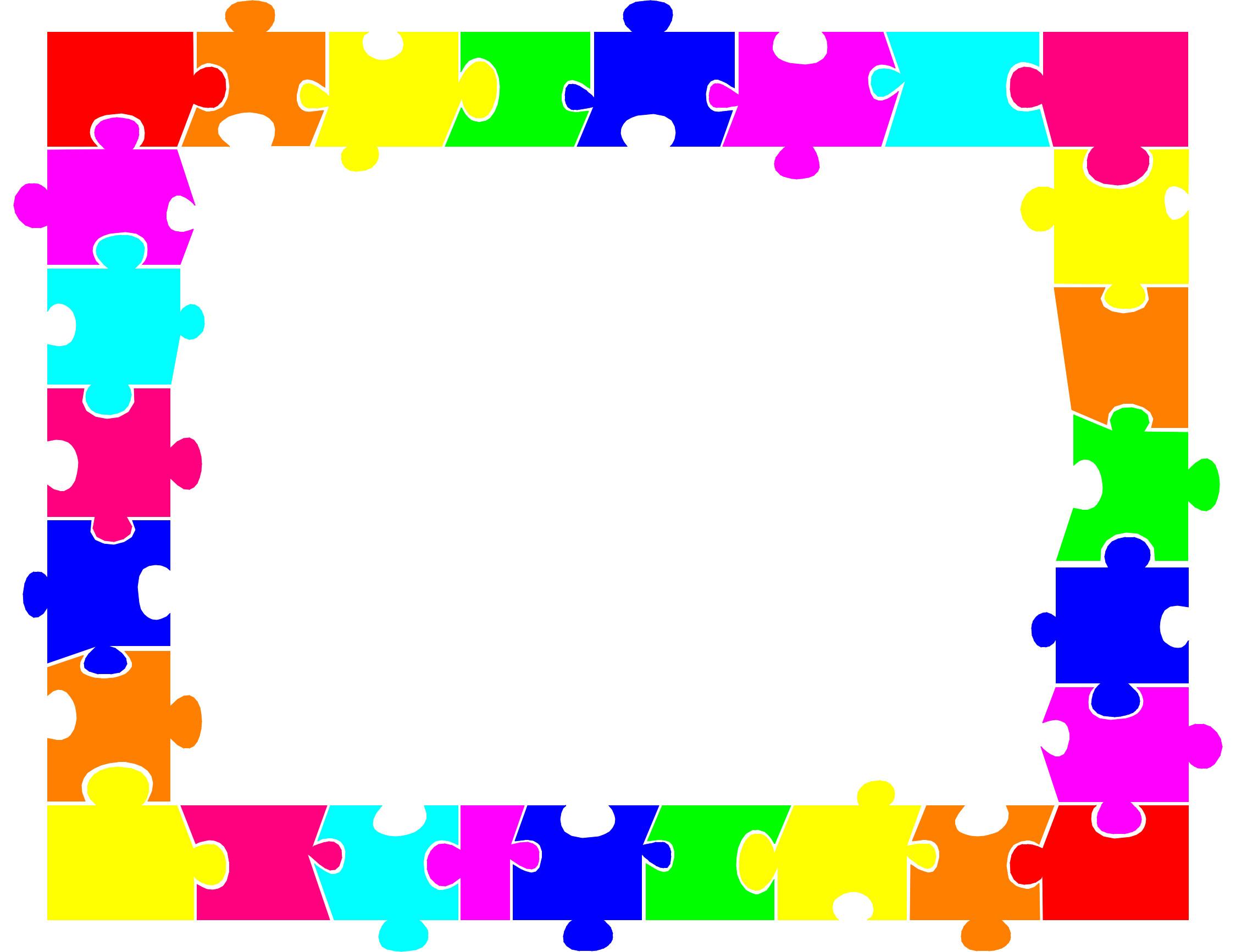 2249x1733 Autism Clip Art Border