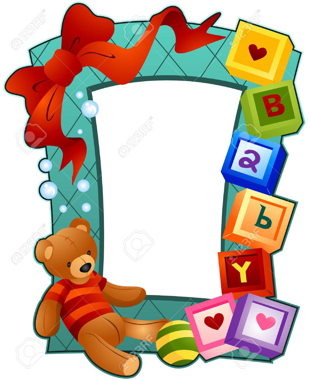 1061x1300 Baby Clip Art Borders And Frames 101 Clip Art
