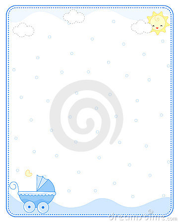 361x450 Baby Frame Clipart