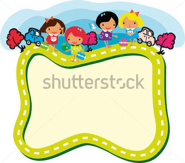 379x333 School Frames And Borders Clip Art