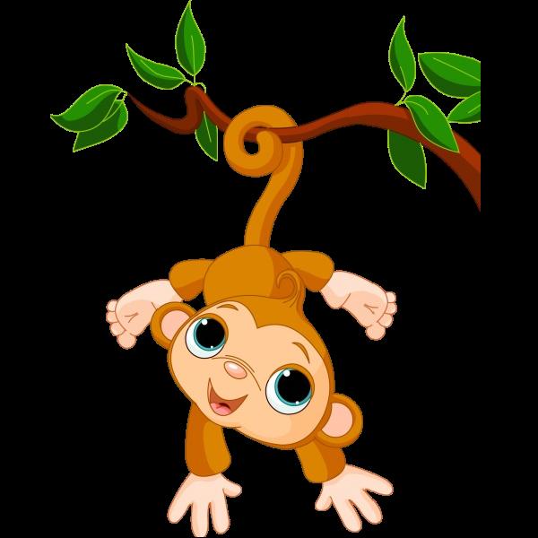 600x600 Cute Funny Cartoon Baby Monkey Clip Art Images. All Monkey Cartoon