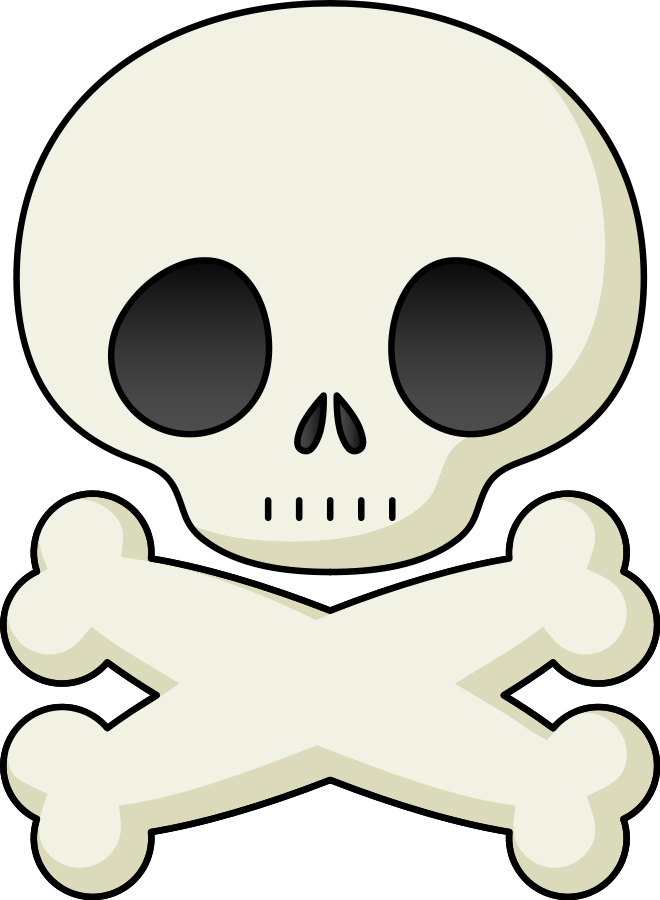 660x900 Skull Clip Art Background Free Clipart Images 6