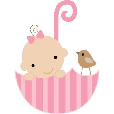 400x400 Baby Girl Cake Clipart