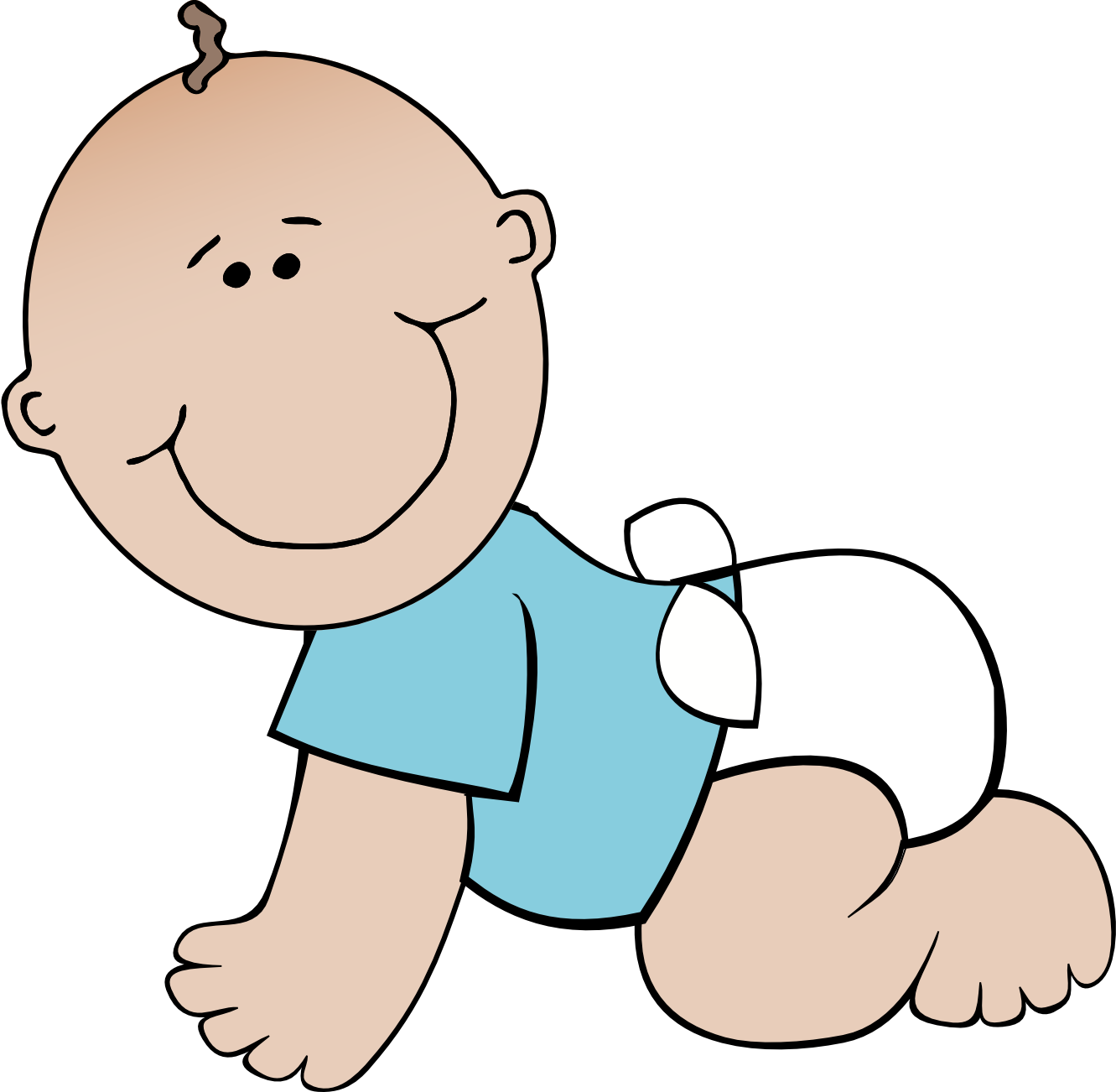 1331x1302 Clipart Baby Pictures
