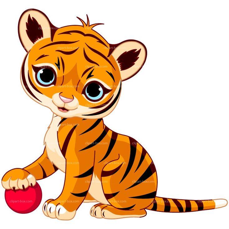 736x736 Tiger Clipart Kostenlos