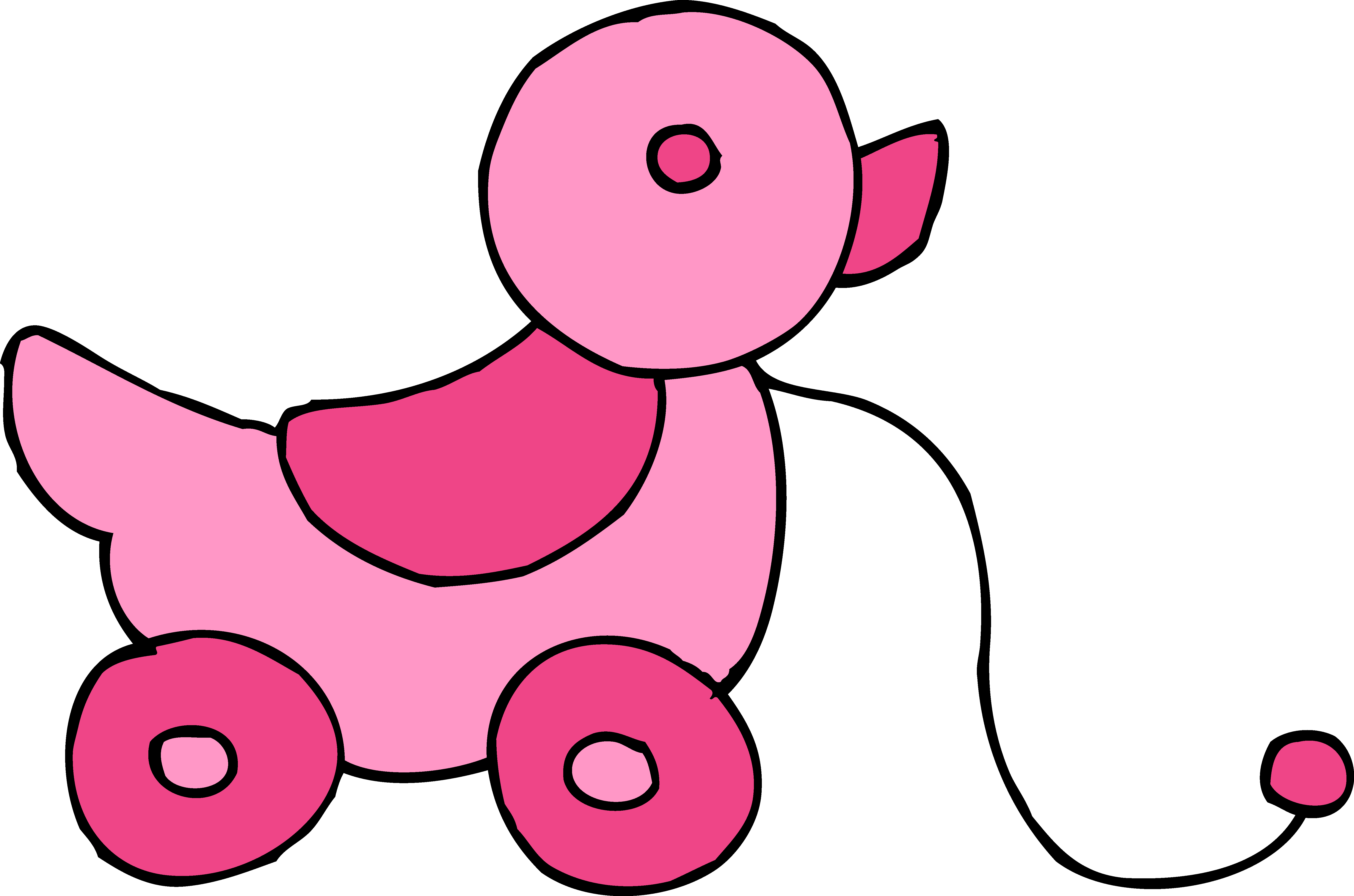6279x4154 Duck Clipart Baby Toy