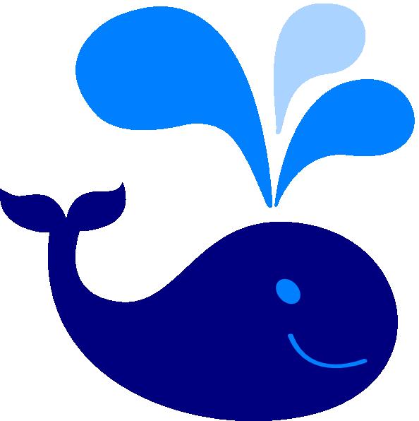 594x596 Baby Blue Whale Clip Art