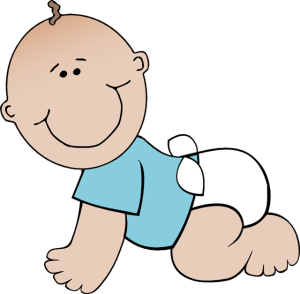 300x294 Free Clipart Baby