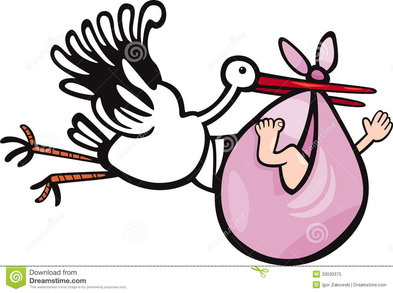 1300x970 Stork Clipart Baby Illustration