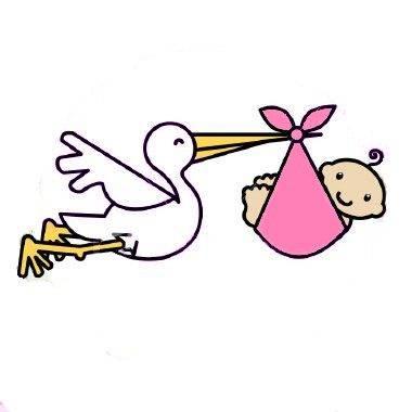 380x380 Best Baby Clipart Stork