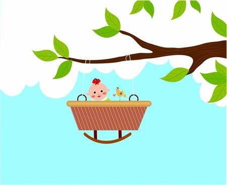 451x368 Baby Girl Vector Free Vector Download (3,728 Free Vector)