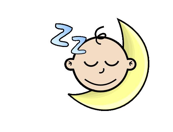 600x458 Sleeping Baby Clip Art