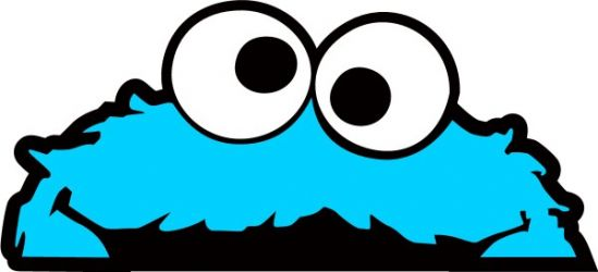 549x250 Cookie Monster Clipart Cute