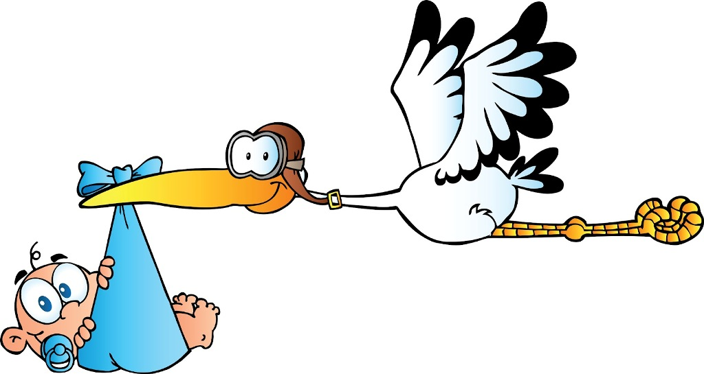 1024x545 Image Of Baby Clipart Stork