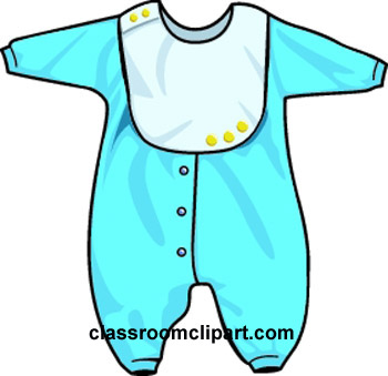 350x339 Blue Clipart Baby Clothes