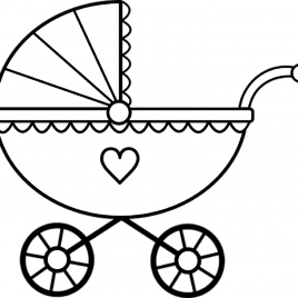 268x268 Coloring Pages Baby Rattle Kids Drawing And Coloring Pages