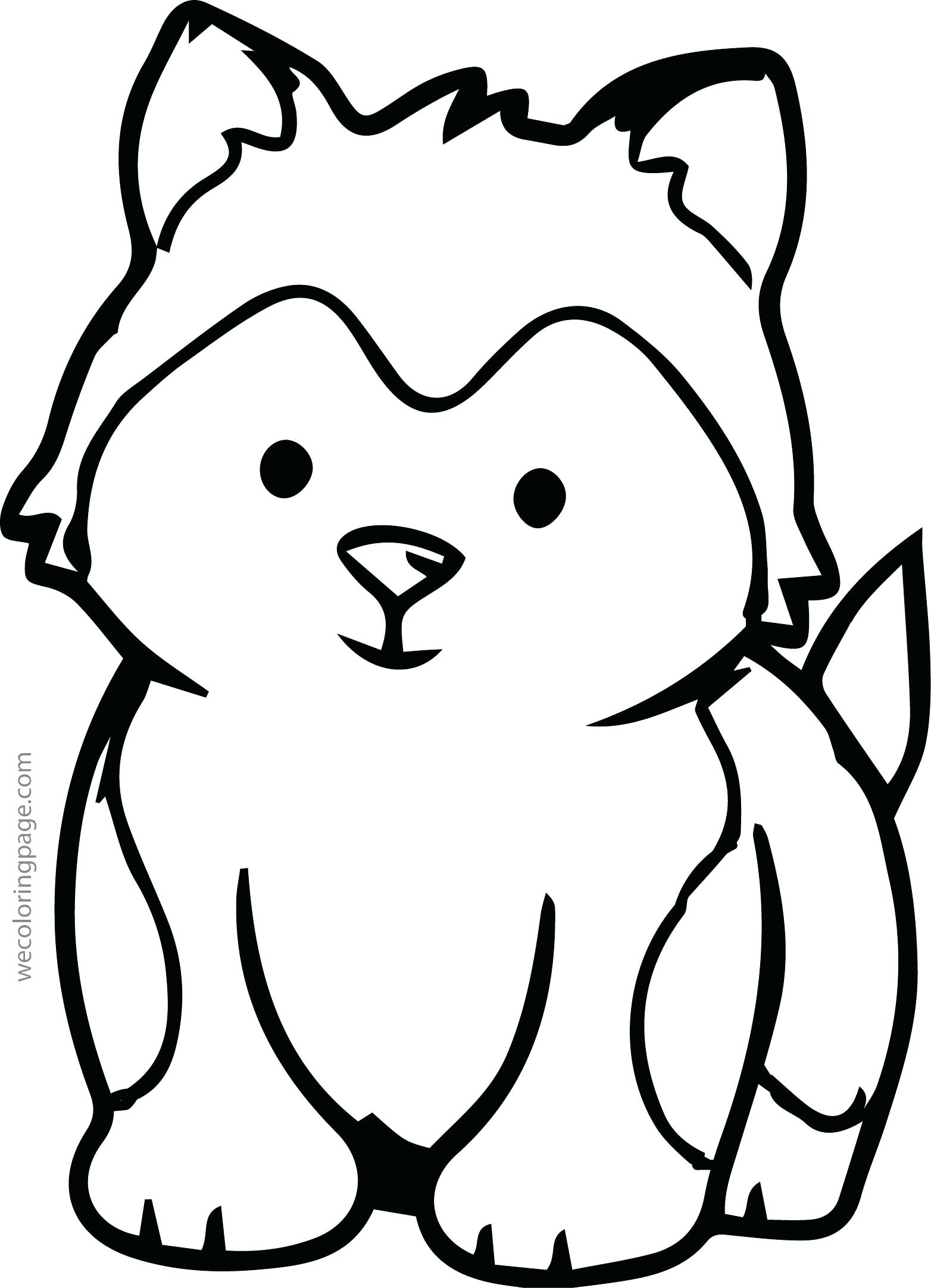 baby siberian husky coloring pages - photo#31
