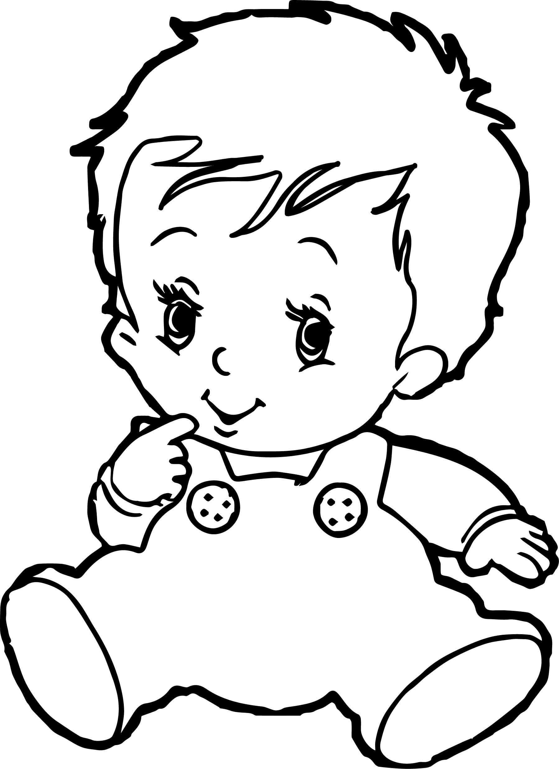 1797x2470 baby boy coloring pages wecoloringpage - Boy Coloring Pages
