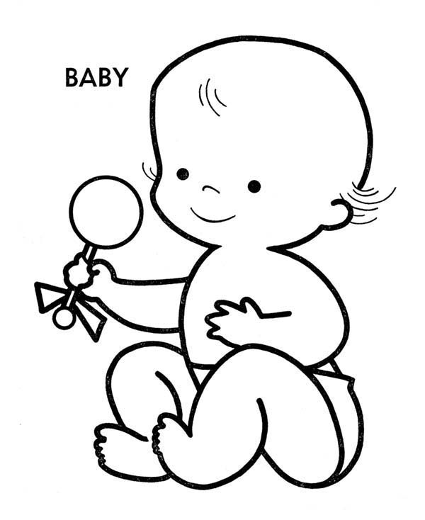 graphic relating to Baby Printable Coloring Pages referred to as Little one Coloring Internet pages Totally free down load least complicated Youngster Coloring Internet pages