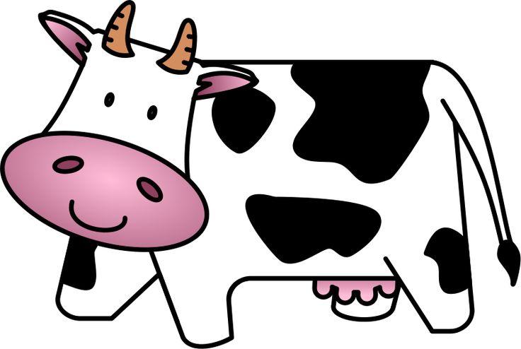 736x494 Cow Cartoon Clipart Cow Baby Cartoon Free