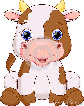 357x450 Cute Baby Cow Cartoon My Life Baby Cows, Cow