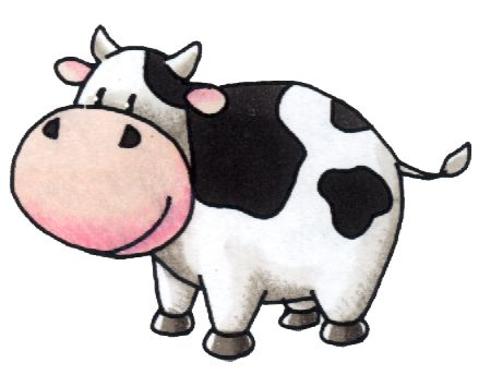 450x344 Mommy Clipart Baby Cow