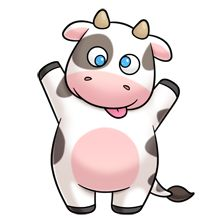 220x220 Mommy Clipart Cow