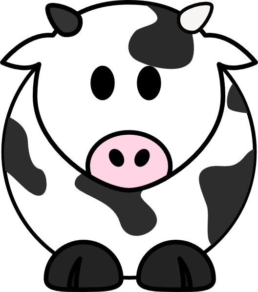 528x598 26 Best Cartoon Cows Images Cow, Pictures And Animation