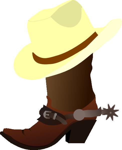 486x598 Free Clipart + Cowboy