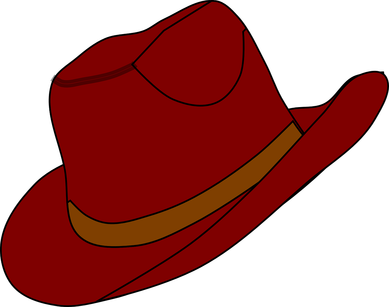 1280x1009 Free Clipart Of Hats