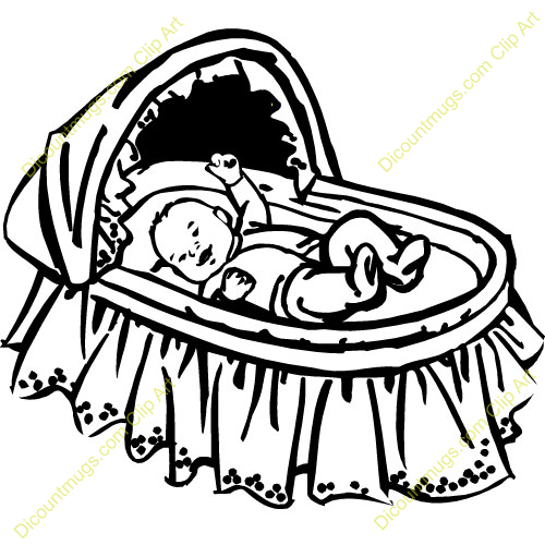 Baby Crib Clipart Free Download Best Baby Crib Clipart