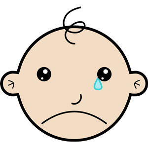 300x300 Baby Crying Clip Art Clipart