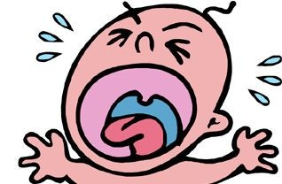 318x208 Baby Crying Clip Art Clipart