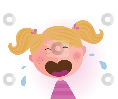 450x377 Crying Baby Girl Clipart