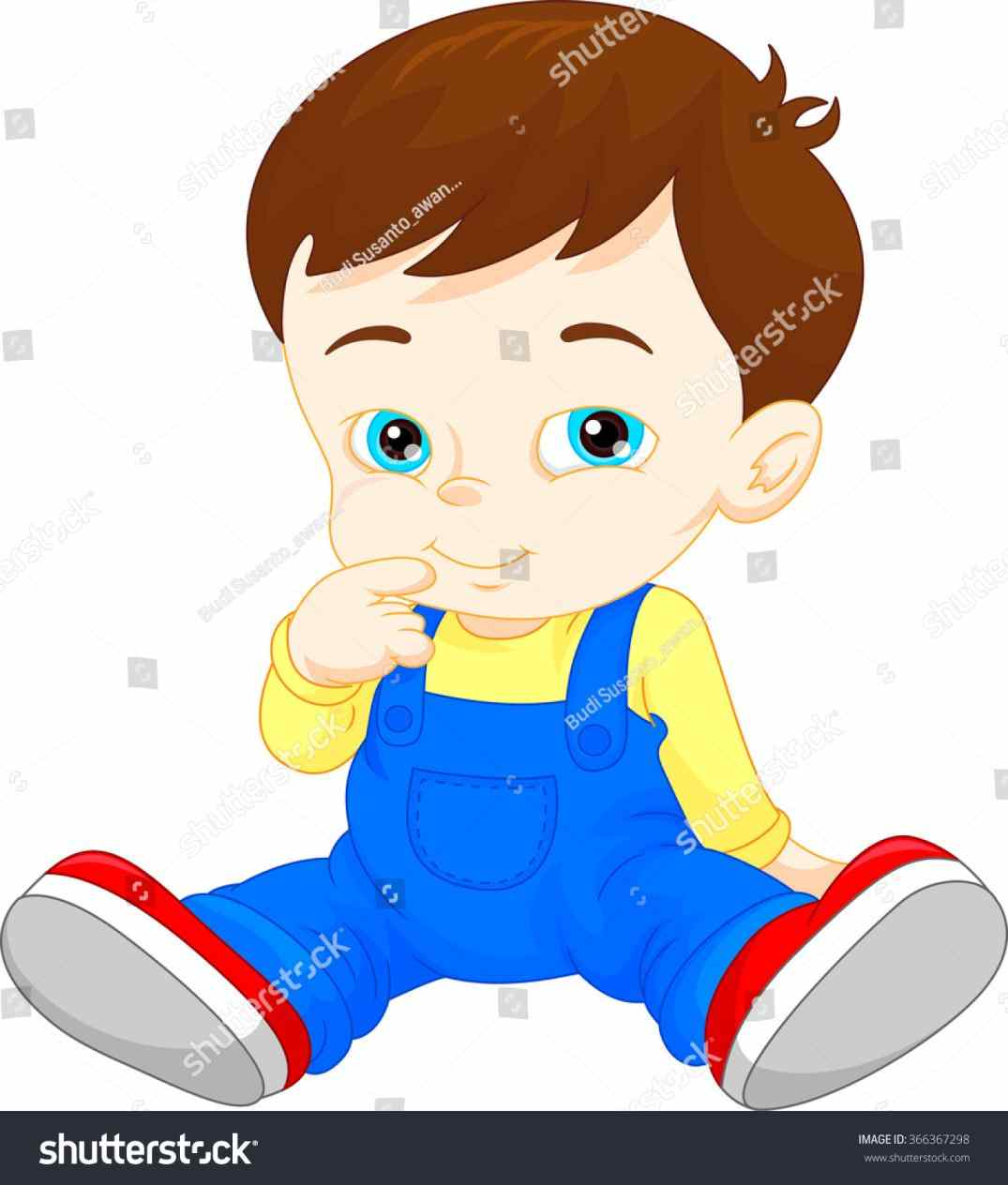 1075x1264 Drawing Crying Vector Baby Boy Sports Clipart Drawing Crying Stock