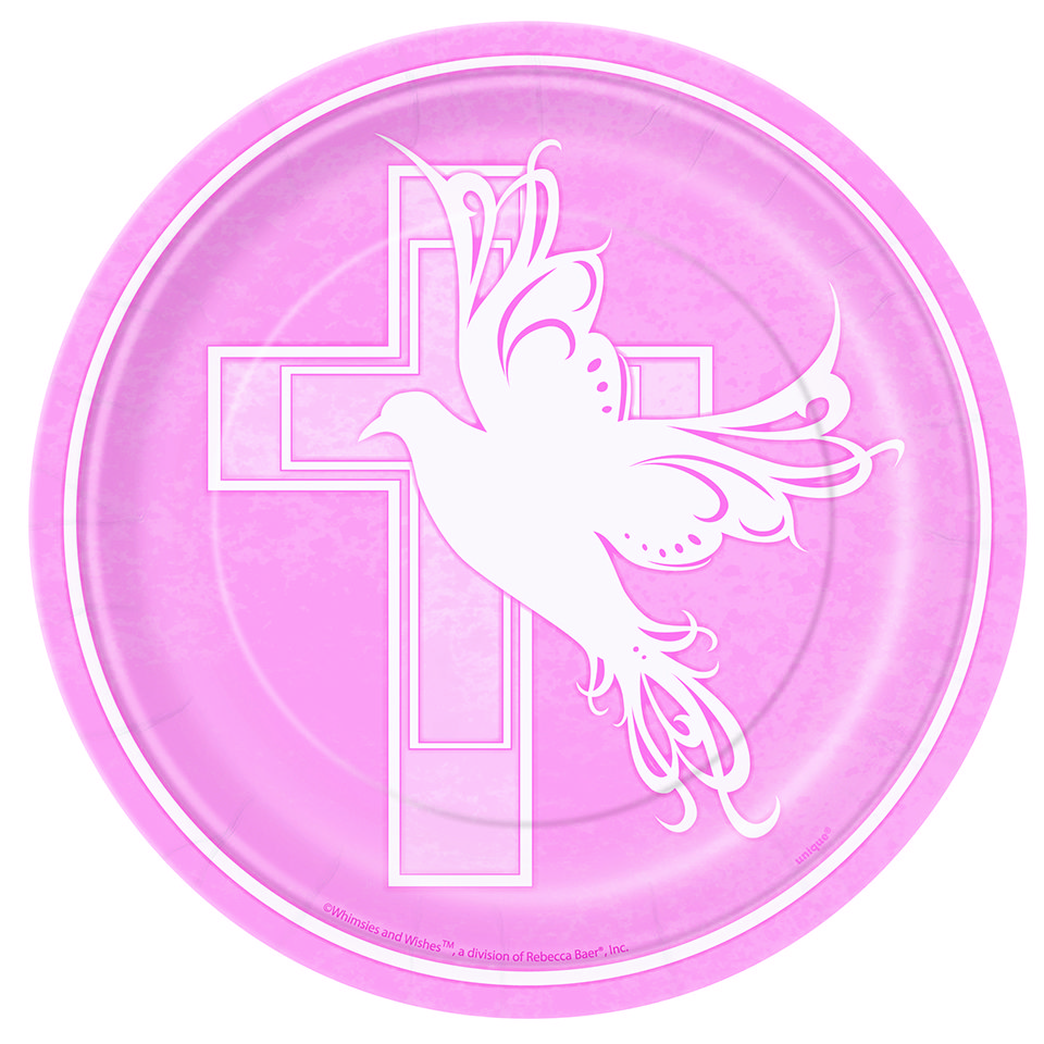 960x960 Baby Girl Christening Clipart