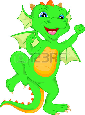 330x450 Cartoon Illustration Of A Baby Dinosaur Hatching Royalty Free