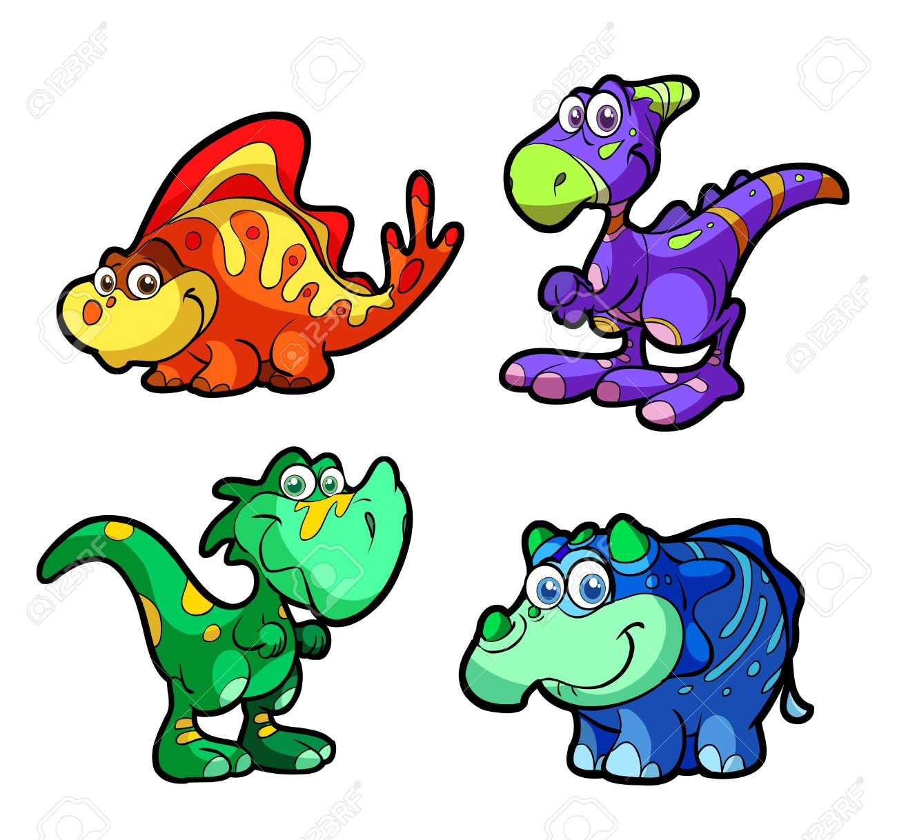 1300x1218 Dinosaur Cartoon Clipart