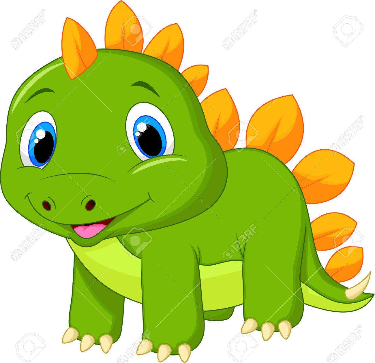 1300x1259 Stegosaurus Clipart Baby Dinosaur