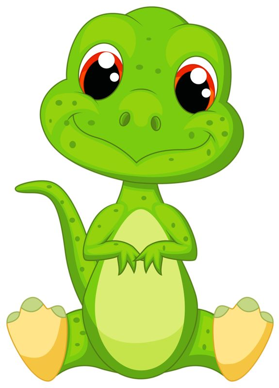 Baby Dinosaur Cartoon Clipart
