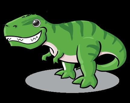 432x340 Baby Clipart T Rex