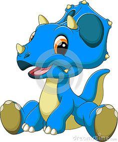 236x285 Cute Dinosaur Cartoon Cartoon, Rock