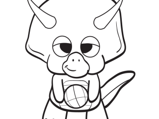 320x240 Baby Dinosaur Coloring Page Ba Dinosaur Coloring Pages Clipart